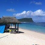 best beach fale in Lalomanu