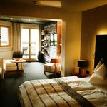 Unser Zimmer: Doppelzimmer Alpenglück