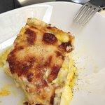 lasagne gorgonzola e zafferano