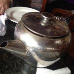 Dirty tea pots for breakfast