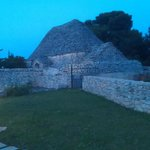 Huge Trullo used for storing the bycycles