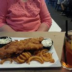 Haddock fish fry 13.95 all you can eat