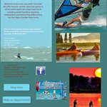 Kayaking -paddle boarding - windsurfing- kiteboarding