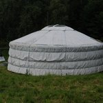 A Yurt in the flesh