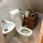 room 2 bathroom (shower was separate)