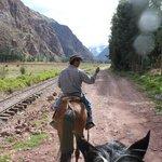 Vias camino a Ollantaytambo