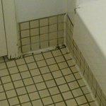Apex Quay: Grubby bathroom in nead of renovation