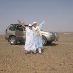 desierto de Merzouga. Hamid y Noemí.