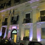 The Palazzo Piranesi by night