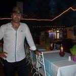 Mehmet wearing boyfriends hat!