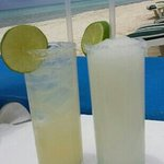 Margaritas on the beach. ..who needs anything more?