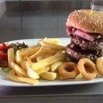 XXX burger.