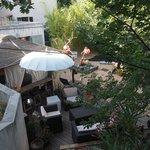 jardin et chambre mas de la nona
