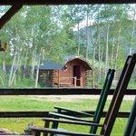 Fishing guide hut