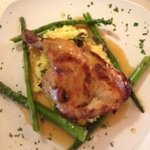 lavender-honey glazed cornish game hen