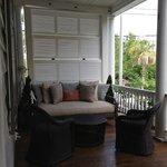 Cozy verandah