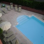 view of pool from 3rd floor