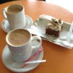 Excellent espresso and 'sweetie'