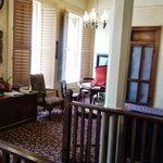 Common sitting area upstairs