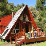 La cabaña con sol