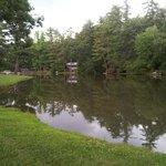 lake area