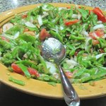 une salade de felfel