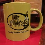 "The mug says it all ""Family Friends Food & Fun"""