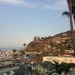 Catalina from Avalon Hotel Rooftop Patio - gorgeous!