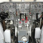 Le cockpit accessible d'un avion