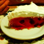 Raspberry Sour Cream Pie Norske Nook