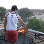 View from the braai/stoep area