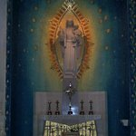 Our Lady of Siluva altar