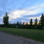 Deck by the river at Riverview RV Park