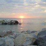 Sunset at the Marina di Pisa