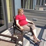Sitting in the sun