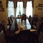 Dining room from hall