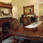 Dining room from window