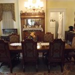 Dining room from parlor