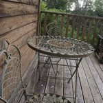 private deck table