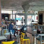 New refit - cafe area
