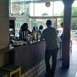 New refit - bar area