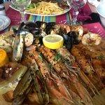 Fricassé de fruit de mer à la plancha