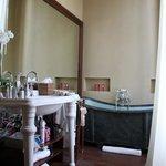 Old style bath!