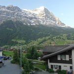 View of the Eiger from our room