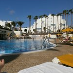 Pool in daytime