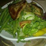 Controfiletto con verdure