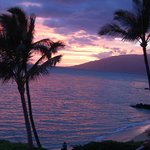 West Maui Mountain sunset (view from lanai)