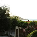 La vue de la résidence