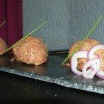 steack tartare preparé par le chef