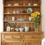 Our dresser for breakfast buffet